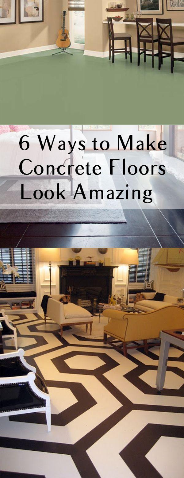 Superb 6 Ways To Make Concrete Floors Look Amazing (1)
