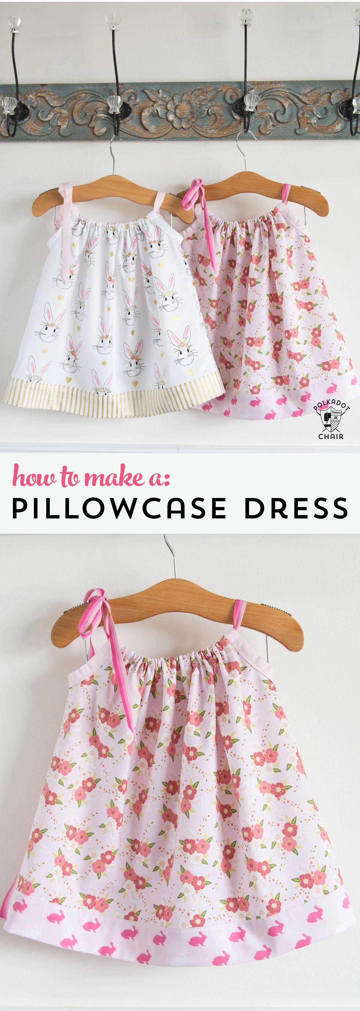 Pillowcase Dress Tutorial & Dress Tutorial pillowsntoast.com