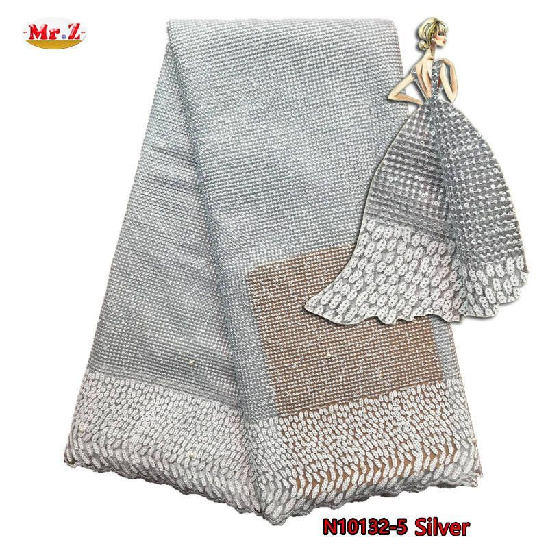Mr.Z Shinning French Laces Fabric 2017 High Quality African Lace Fabric With Stone Nigerian French Guipure Lace Fabric For Dress