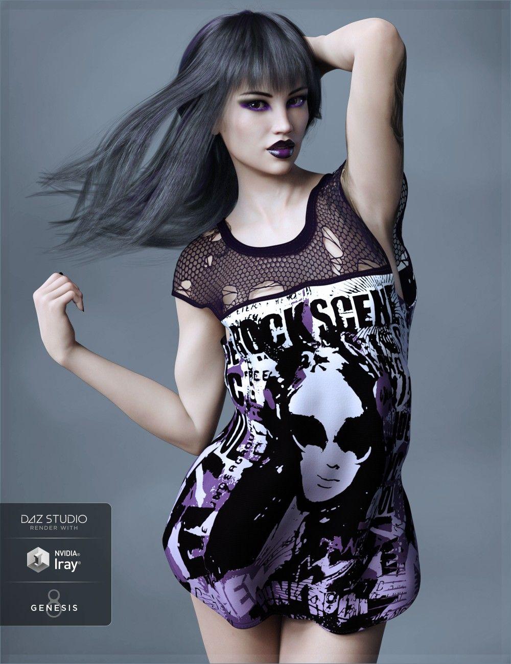 FWHP Eris HD for Genesis 8 Female | 3D Models and 3D