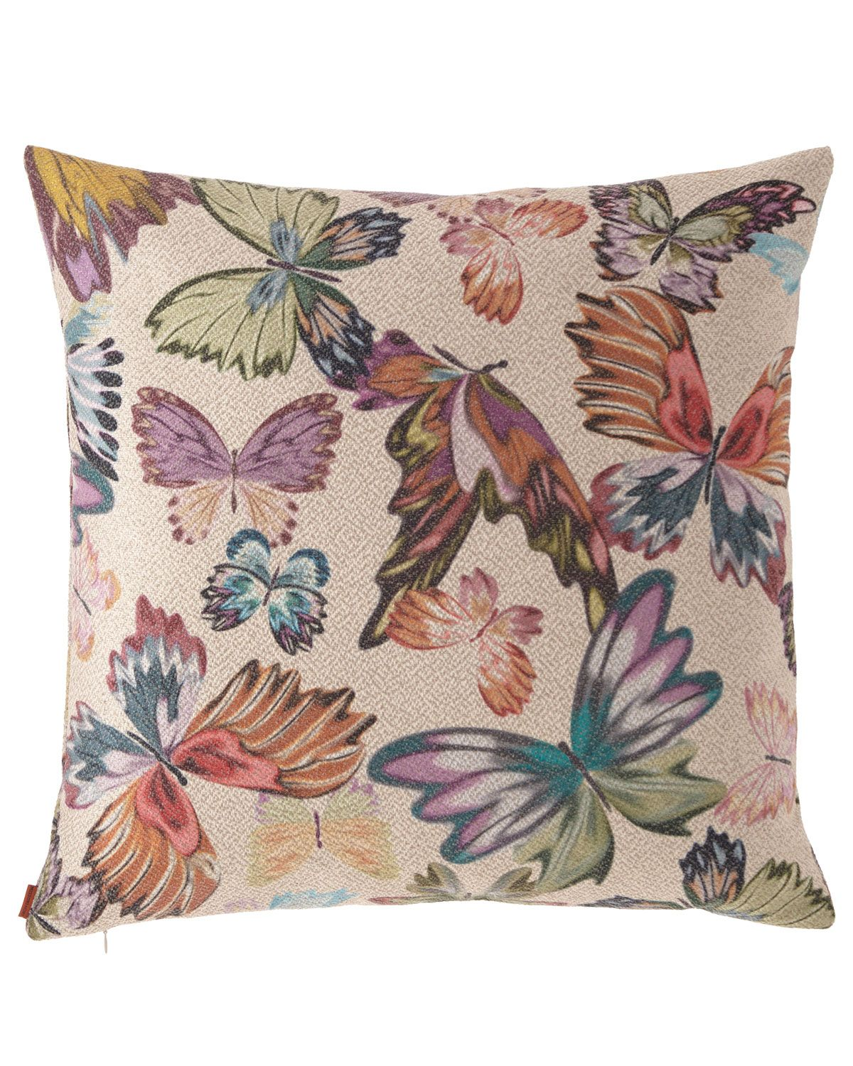 Missoni Home Vientiane Butterfly Jacquard Pillow 24 Sq Pillows