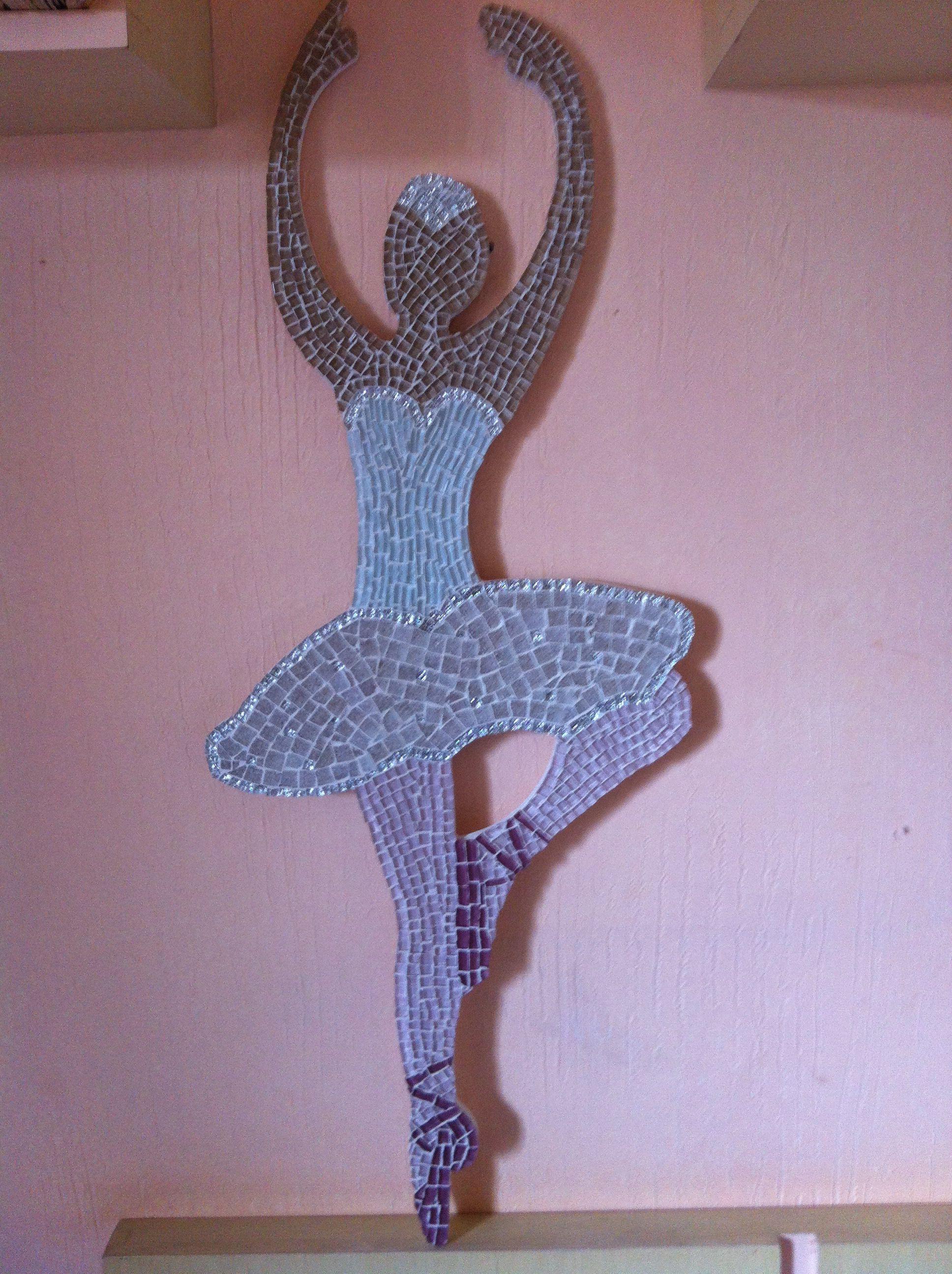 Meu primeiro trabalho em mosaico!
