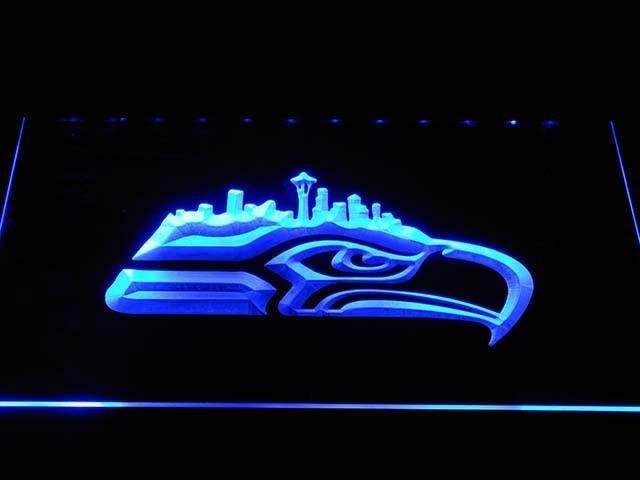 Seattle Seahawks Skyline LED Sign