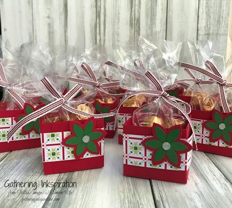 Quilted Christmas Treat & Gift Ideas, learn to stamp, handmade ...