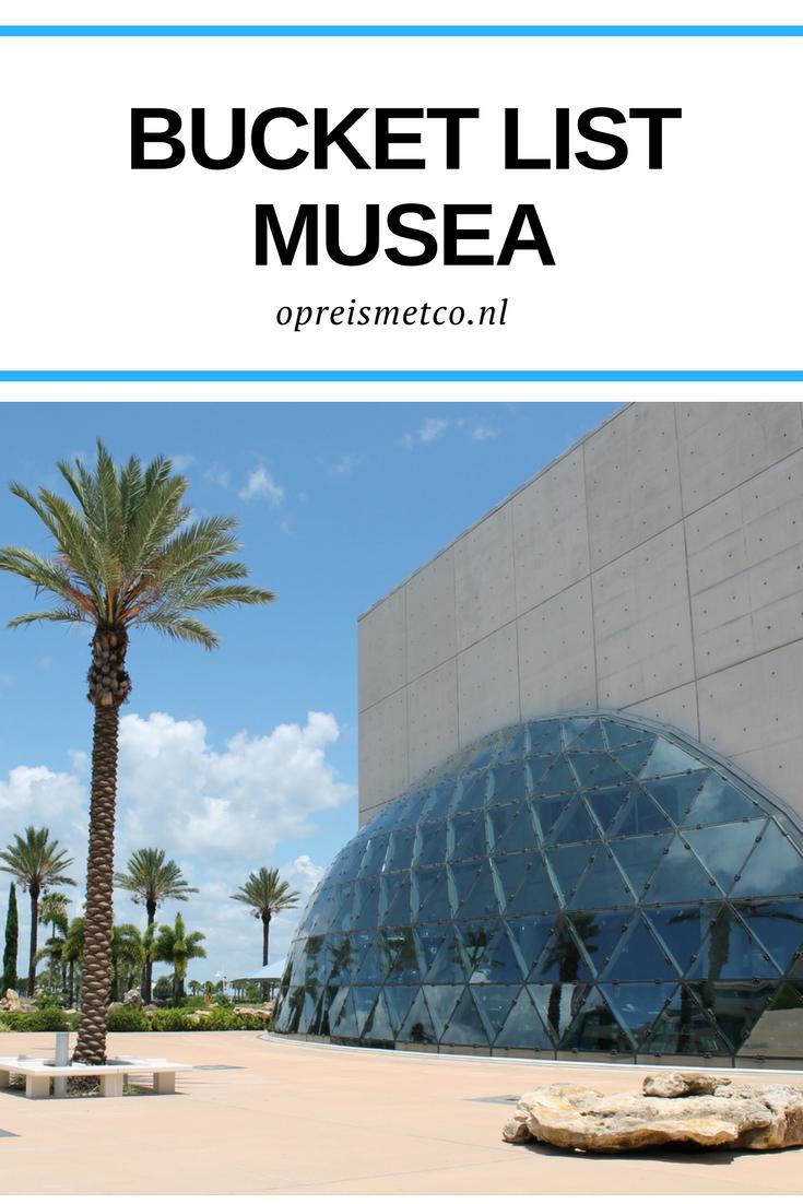 Ik vind het heerlijk om bij iedere reis een museum te bezoeken om de bestemming beter te leren kennen. In deze blog mijn bucket list musea.
