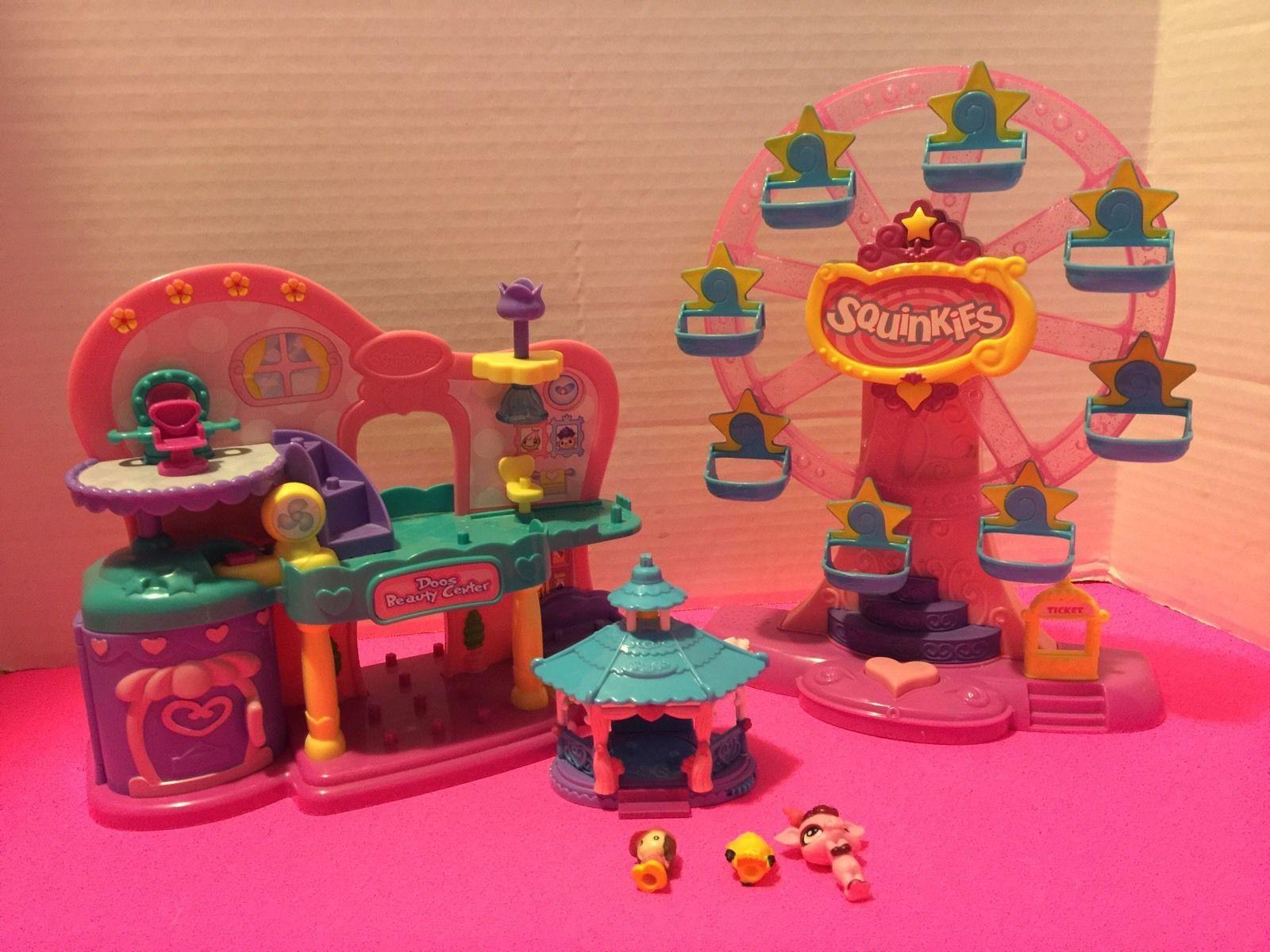 Details about Squinkies Blip Toys Lot Ferris Wheel, Doos