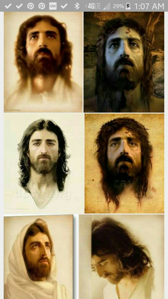 The Real Face Of Jesus From The Shroud Of Turin By Ray Downing Jesus Images Jesus Face Jesus Art