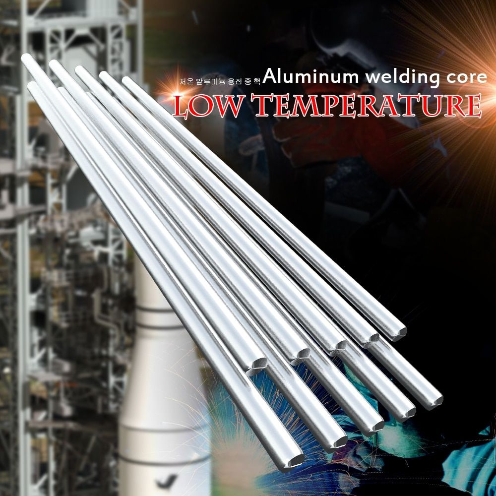 Low Temperature Aluminum solder Welding Wire Flux Cored 2