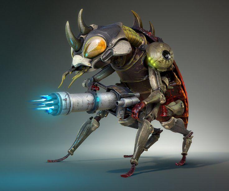 golliath insect by mauricio canon