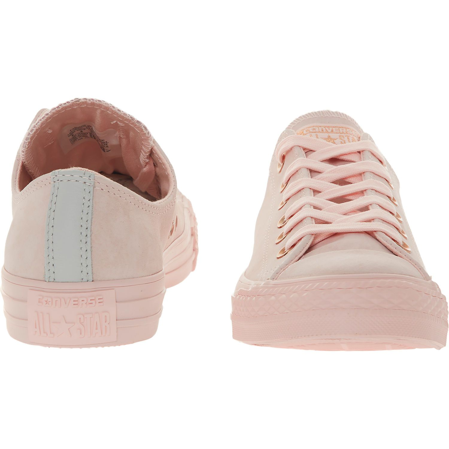 81adb7170cb5 Pink Suede Leather Trainers - Trainers - Shoes - Women - TK Maxx ...
