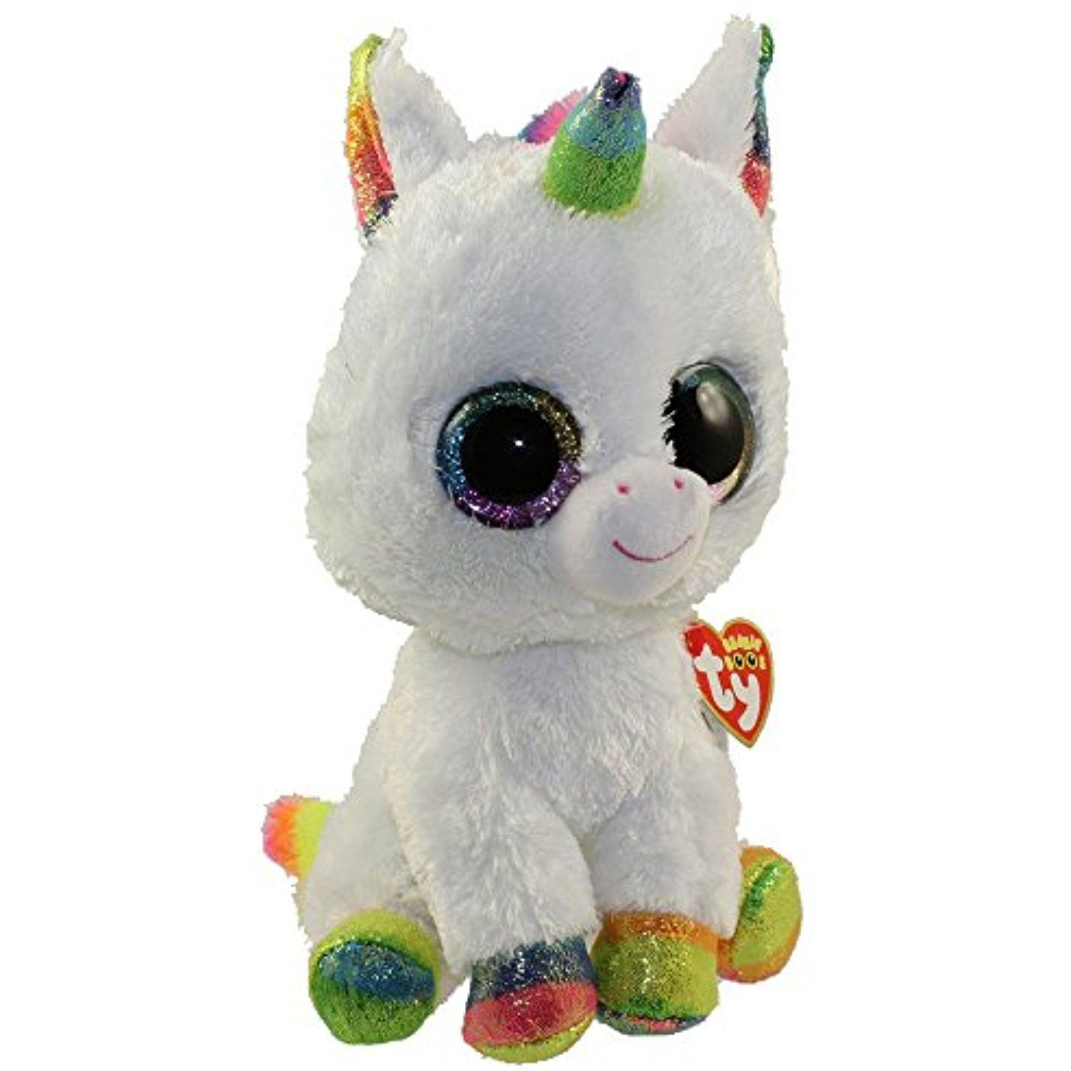 Ty Beanie Boo Plush 6 Pixy The Unicorn Free Gift With Purchase You Can Get Additional Deta With Images Unicorn Stuffed Animal Plush Unicorn Stuffed Animal Boo Plush