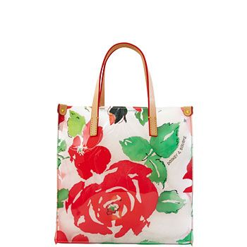 Dooney Rose Garden Lunch Tote.  Great as a purse.