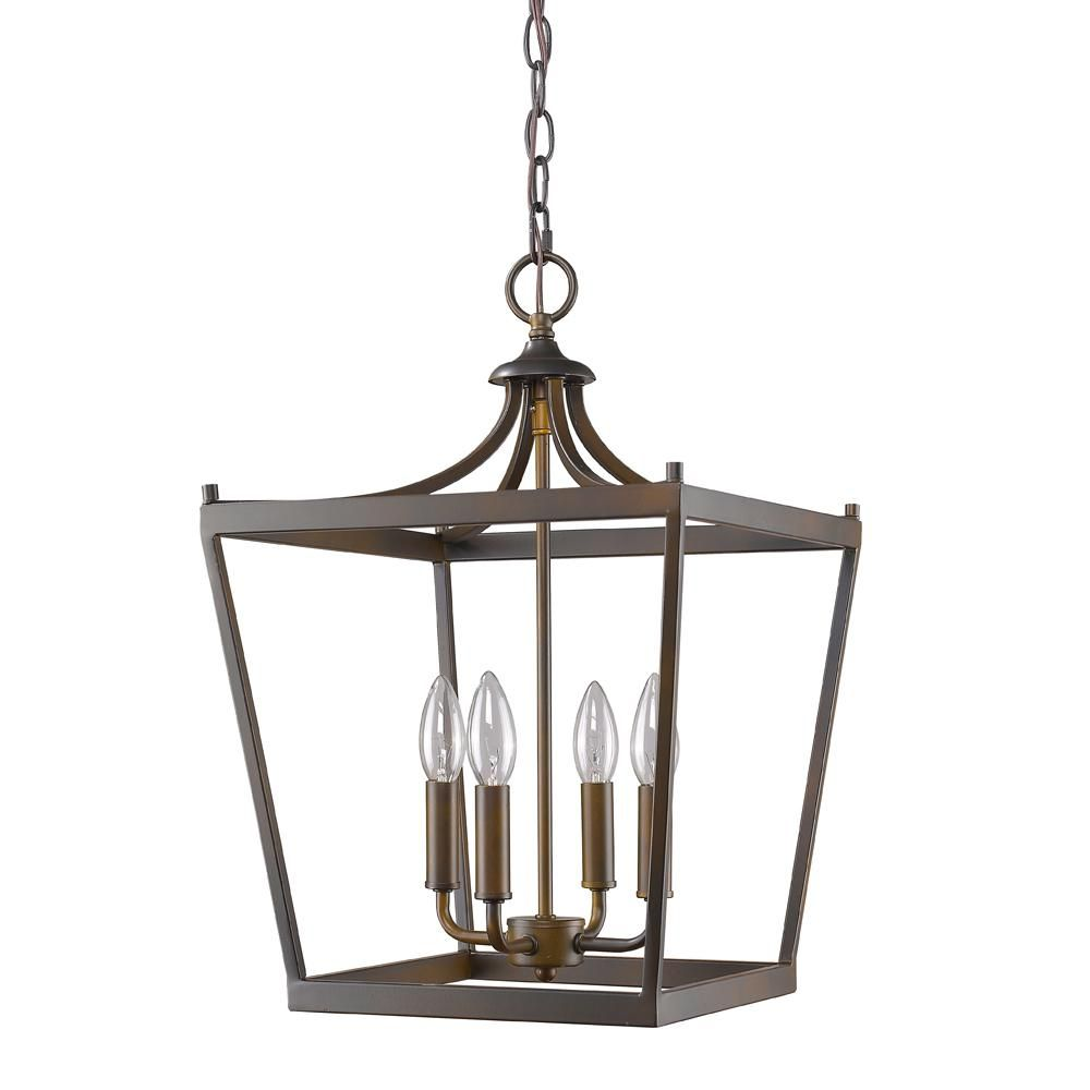 Acclaim Lighting Kennedy 4 Light Indoor Oil Rubbed Bronze Chandelier