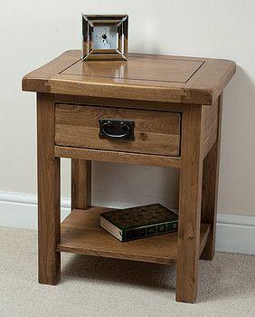 Original rustic solid oak lamp table lamp table solid oak and original rustic solid oak lamp table aloadofball Images