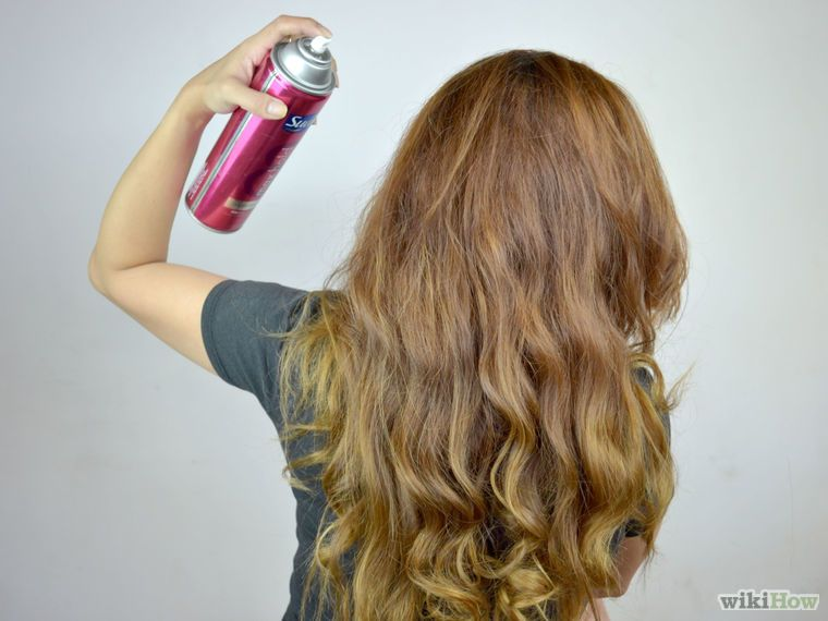 Get beach wavy hair without heat hair without heat