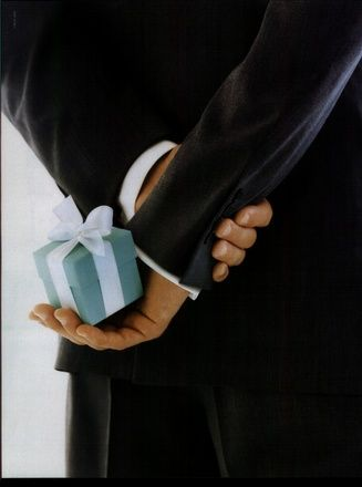 Every girls Prince Charming should bring her a little blue box from Tiffany's...  Mine did :)