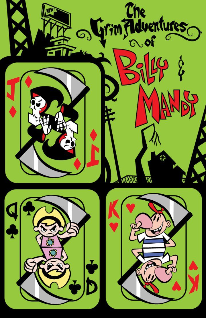 The Grim Adventures Of Billy And Mandy Devian Art The Grim