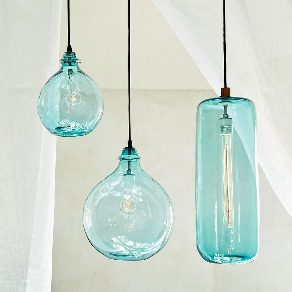 Salon Glass Demijohn Pendant Lighting Love House Of