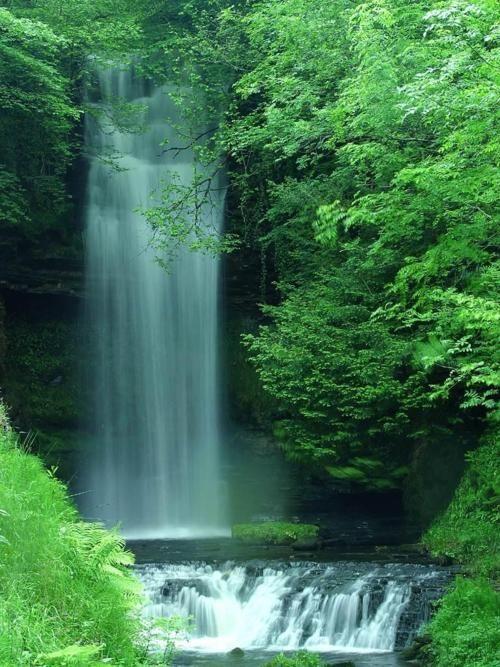 Waterfall In Ireland From Magical Nature Tour Waterfall Beautiful Waterfalls County Leitrim