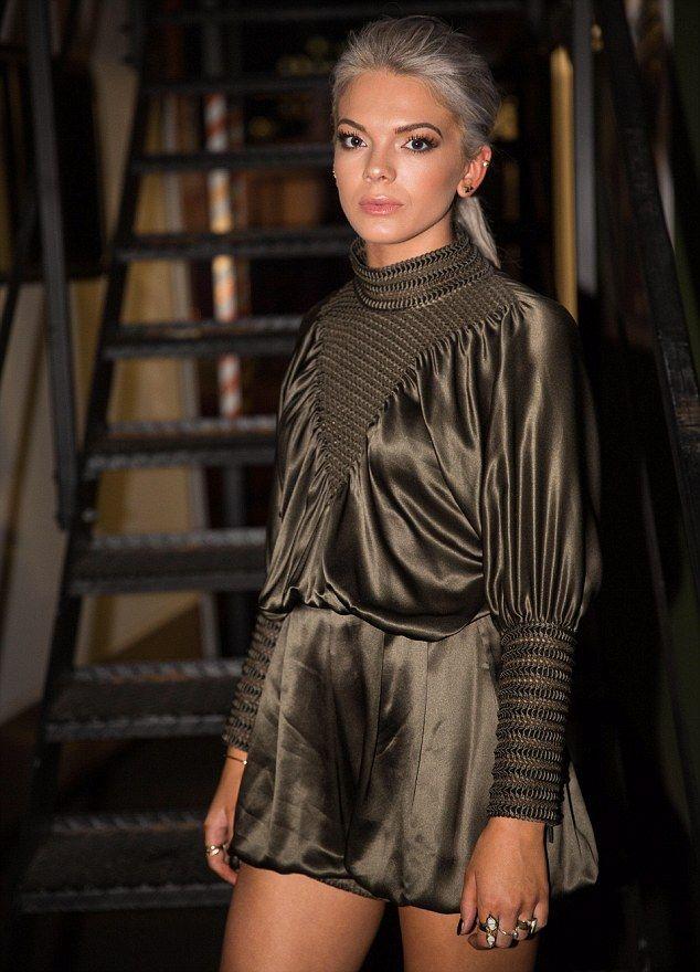 X Factor winner Louisa Johnson looks chic at Britain's Got