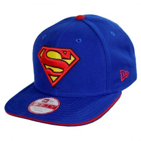 Superman Snapback available at  VillageHatShop  1e1f0869354c