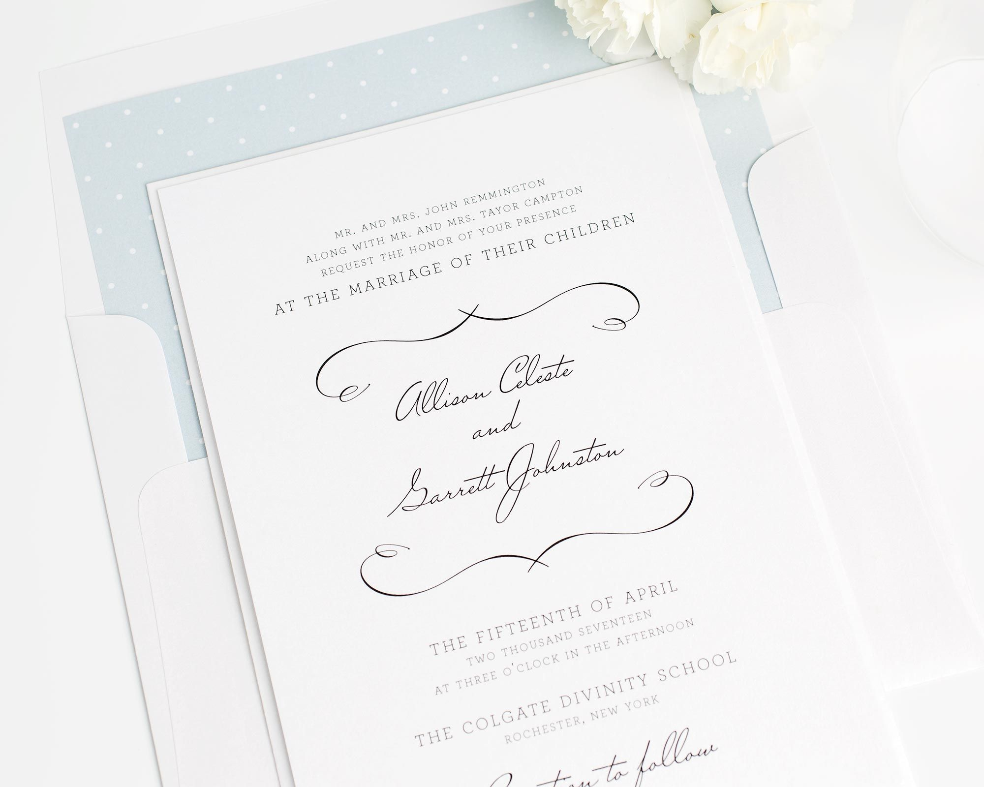 French Country Wedding Invitations | Country wedding invitations ...