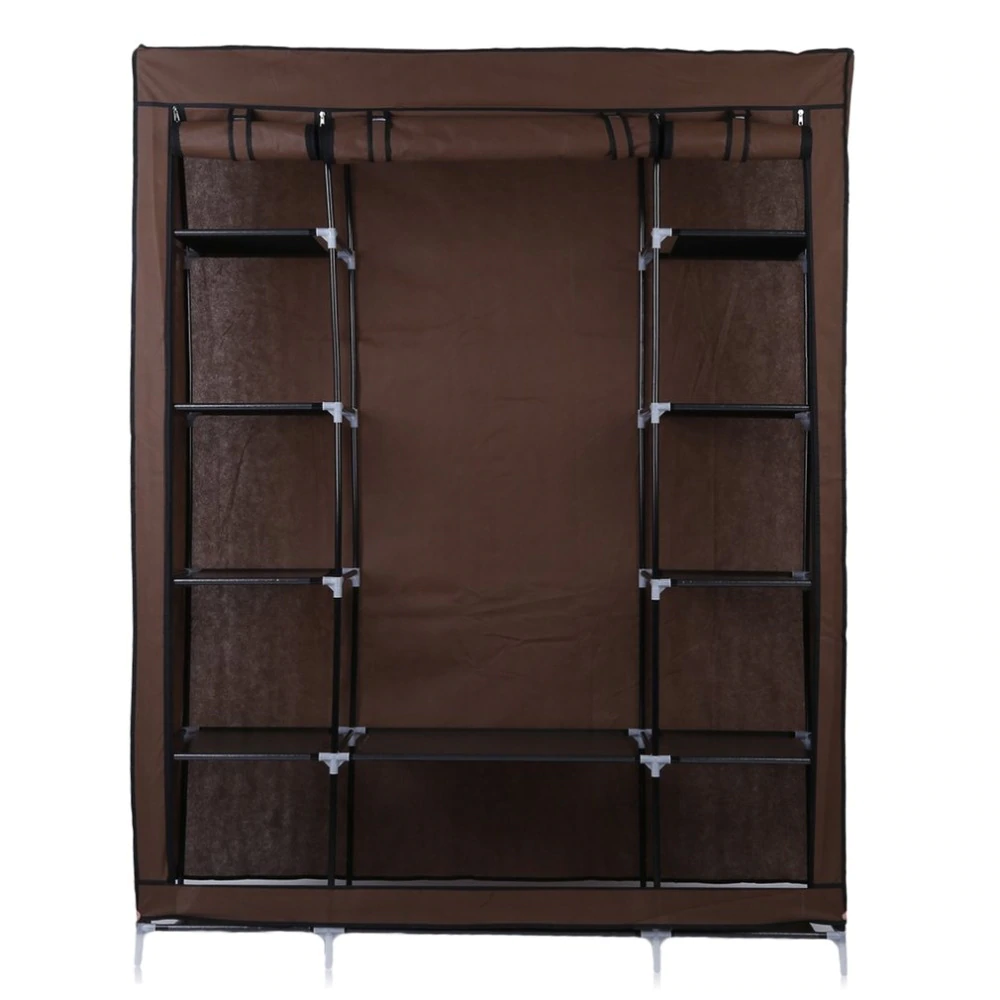 Various good open clothing storage ideas Room makeover