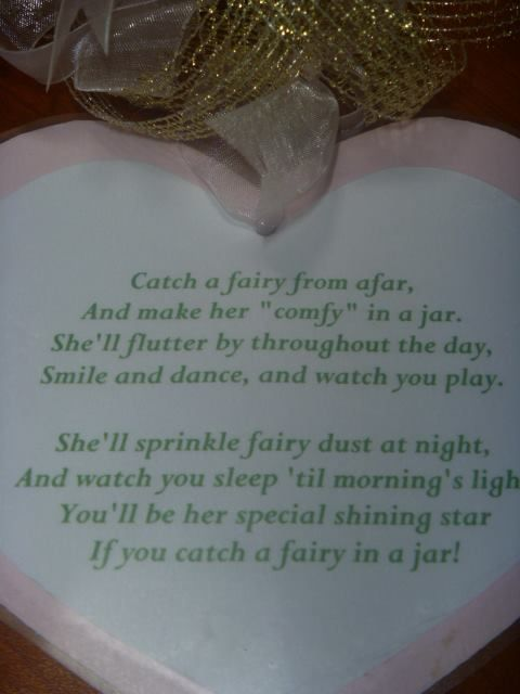 fairy wishes poems