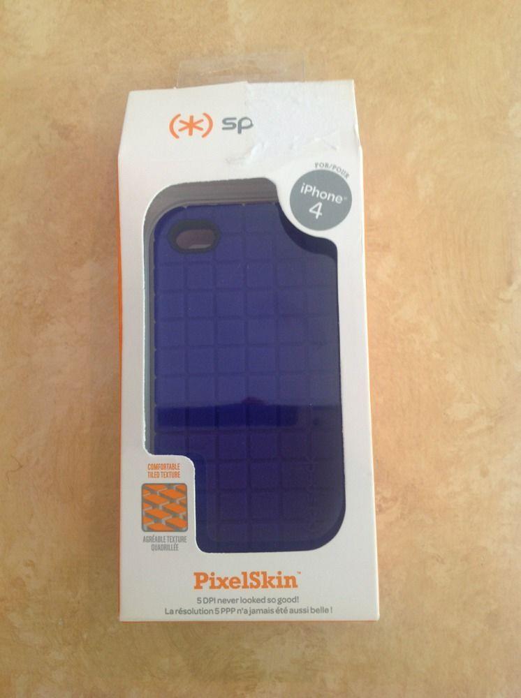 NEW Speck Products TILE PixelSkin Apple iPhone 4 Purple Skin Case ...