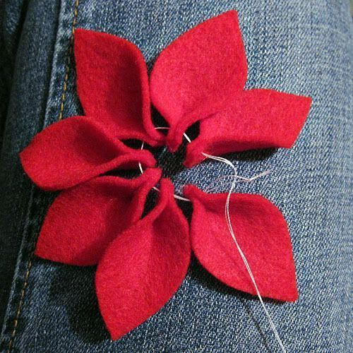 Jacabean Designs: Felt Flower Tutorial | Es