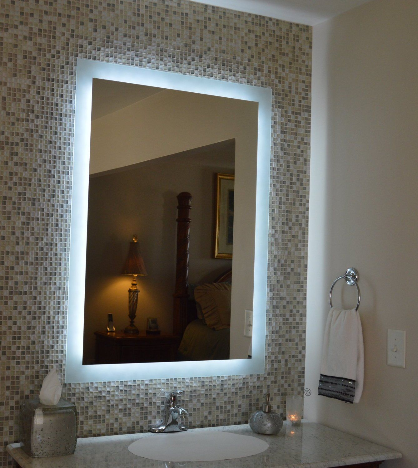 Bathroom Mirror With Light And Shaver Socket Bathroom Mirror Lighted Vanity Mirror Bathroom Mirror Lights