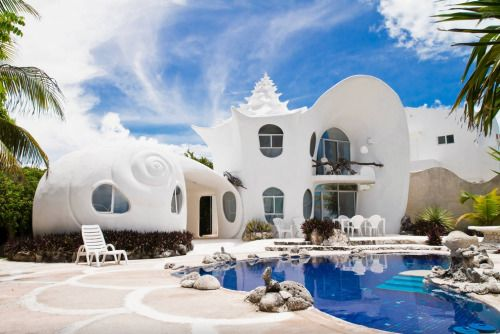 Bnbcorners: The Seashell House, Isla Mujeres, Mexico2 Bedrooms,...