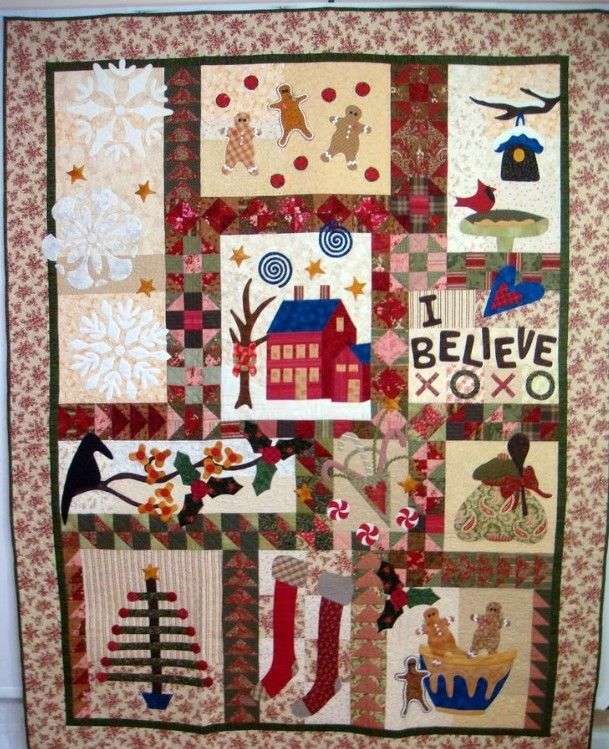 Christmas Gingerbread Clt0211035h Quilt Blanket Quilts