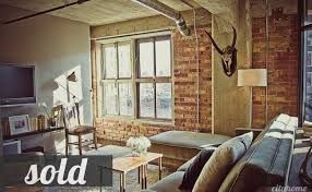 muted, industrial juxtaposition loft