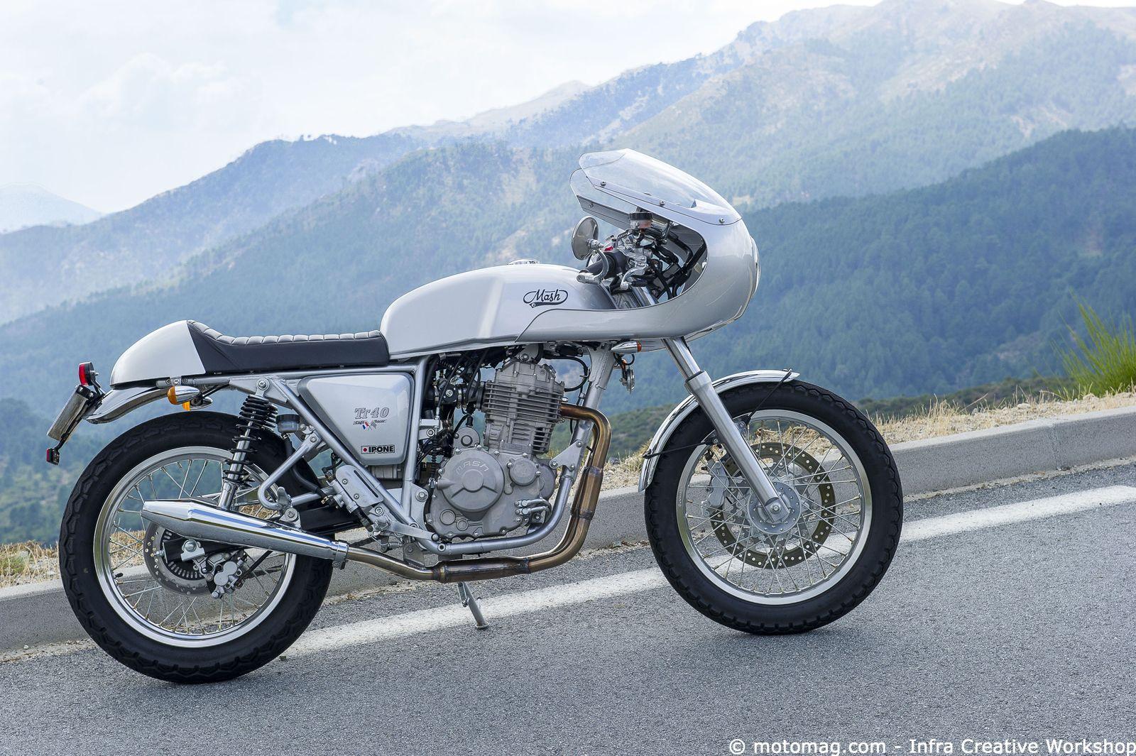 Mash TT40 Café Racer : le sport à la cool | Pinterest | Motorräder