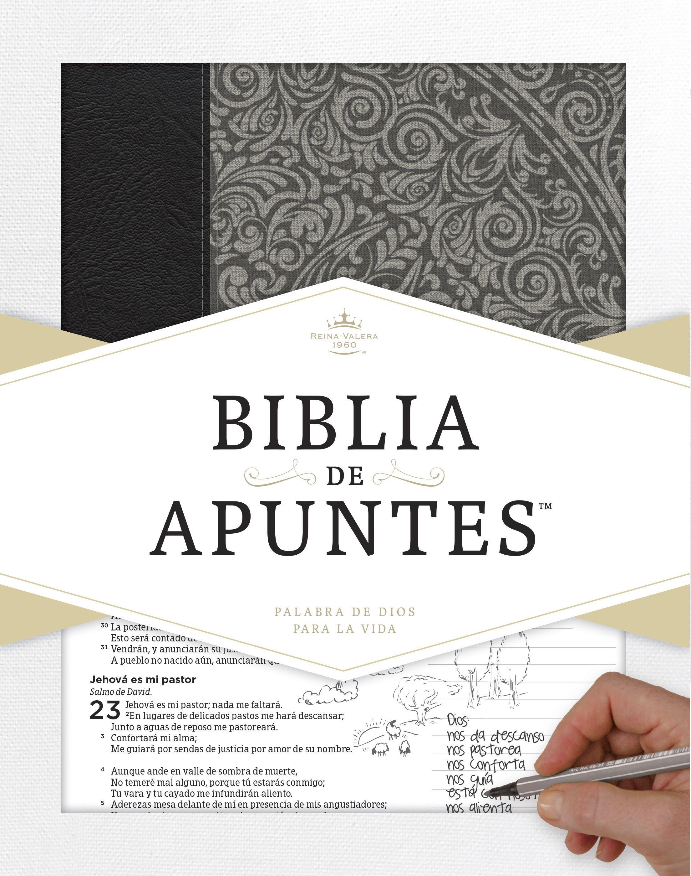 RVR 1960 Biblia de Apuntes™ azul ISBN: 9781433649257 Ahora, tu ...