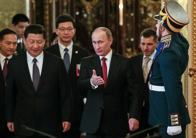 RUSSIACHINADIPLOMACYECONOMY Kremlin palace, Vladimir