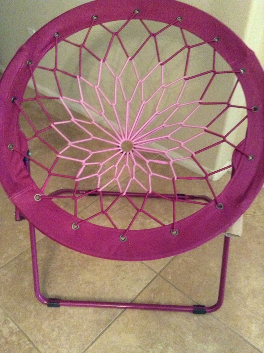 Trampoline Chair Pink - Purple bungee chair