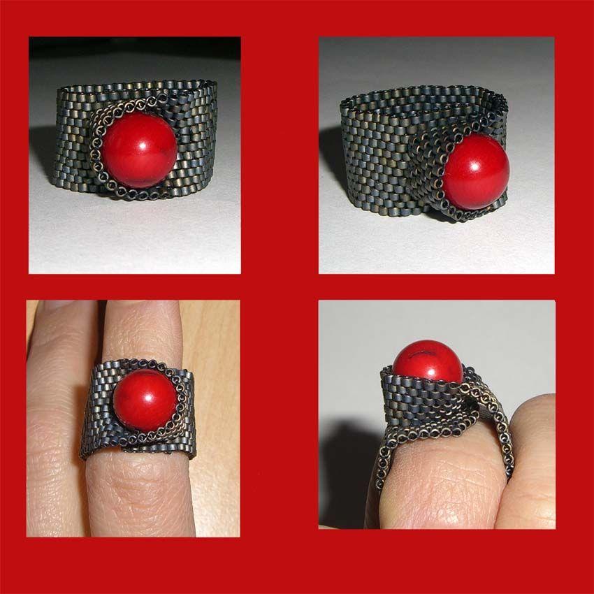 B.Mond.jpg]   gyongyos   Pinterest   Ringe, Perlen und Ring halskette