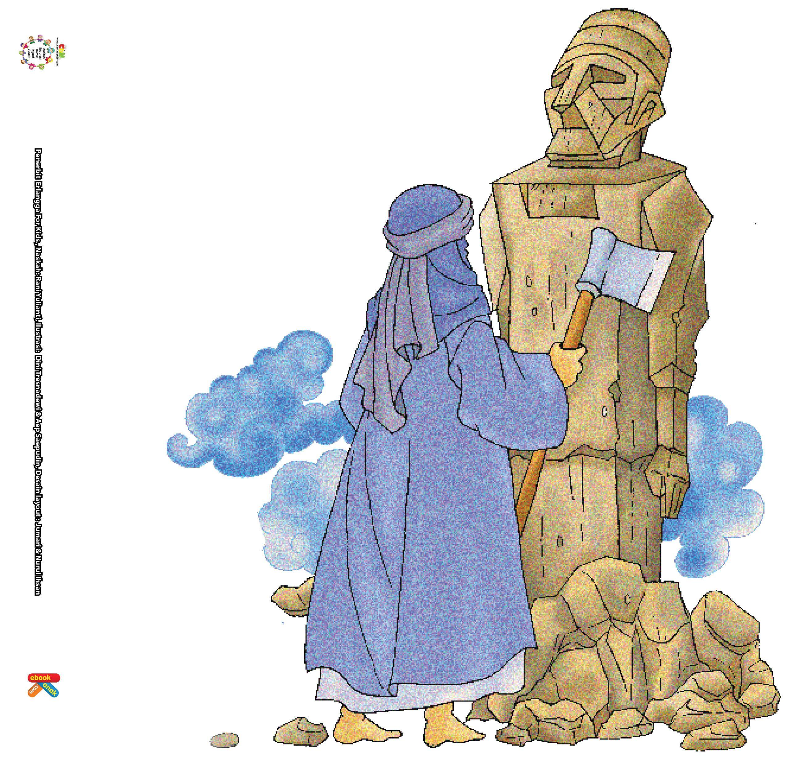 Nabi Ibrahim Menghancurkan Patung Patung Berhala Dengan