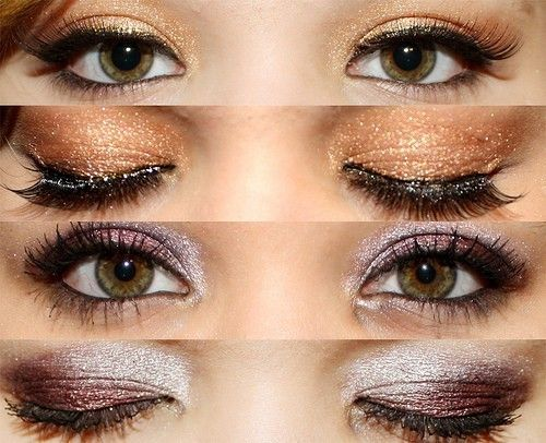 two beautiful shades for eyes. bet they look even better with blue eyes.