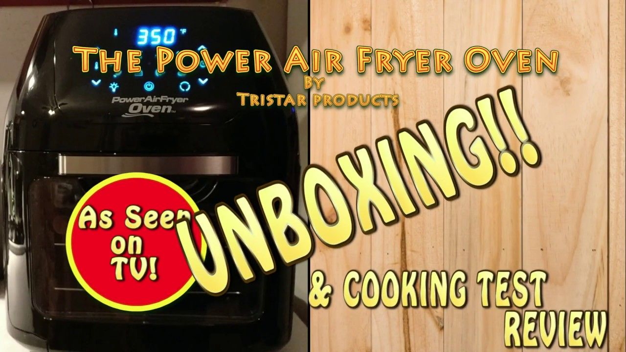 Power Airfryer Oven Unboxing and Review Air fryer, Power