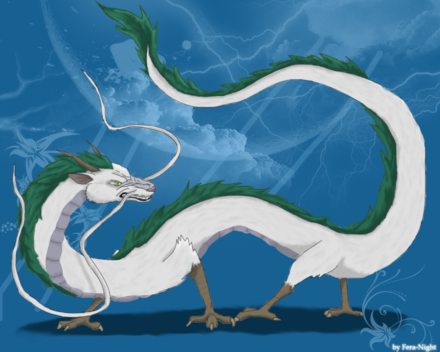 Haku The Dragon By Fera Night On Deviantart Ghibli Artwork Spirited Away Spirited Away Dragon