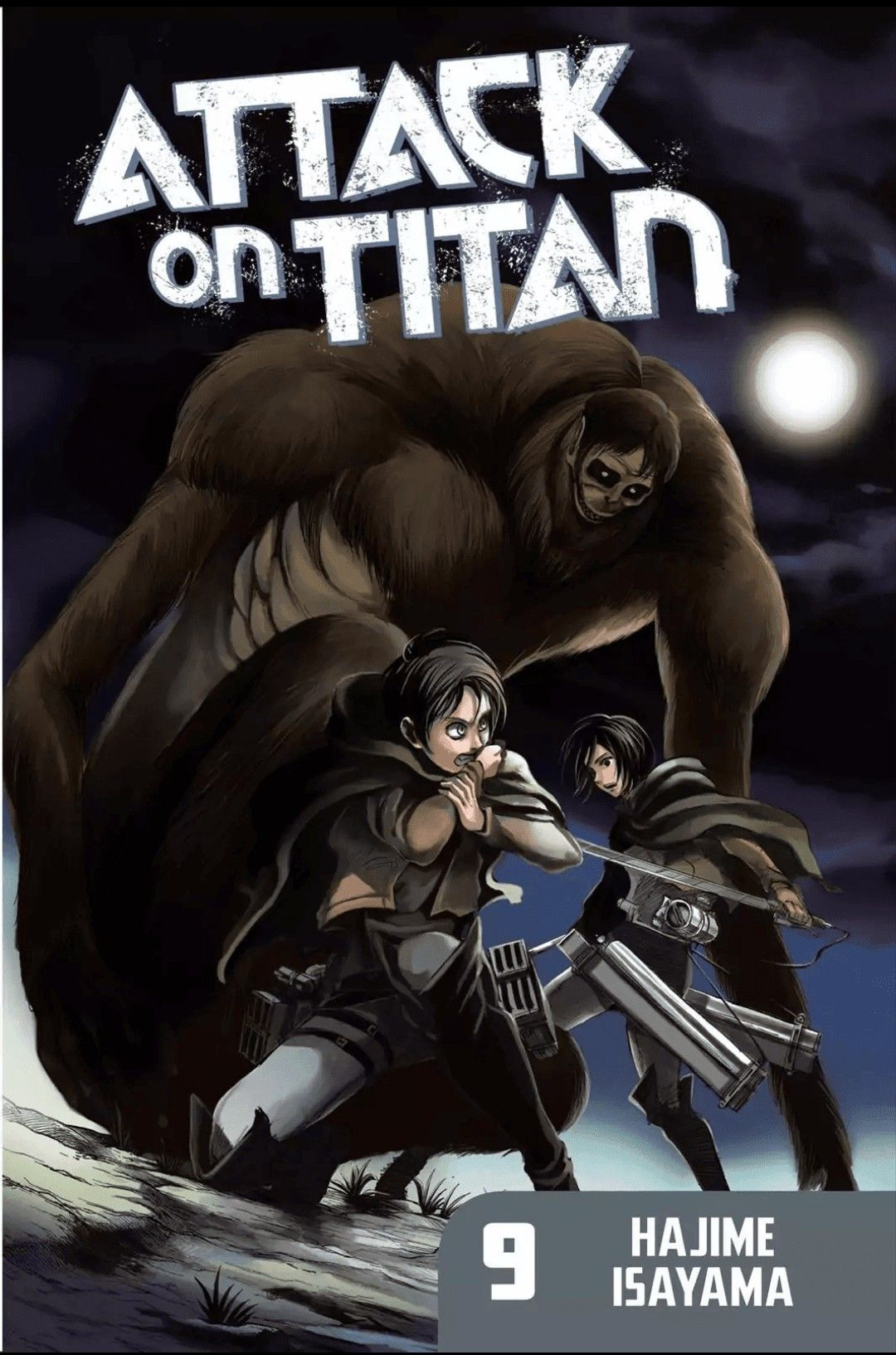 Manga Cover (With images) Attack on titan, Attack on
