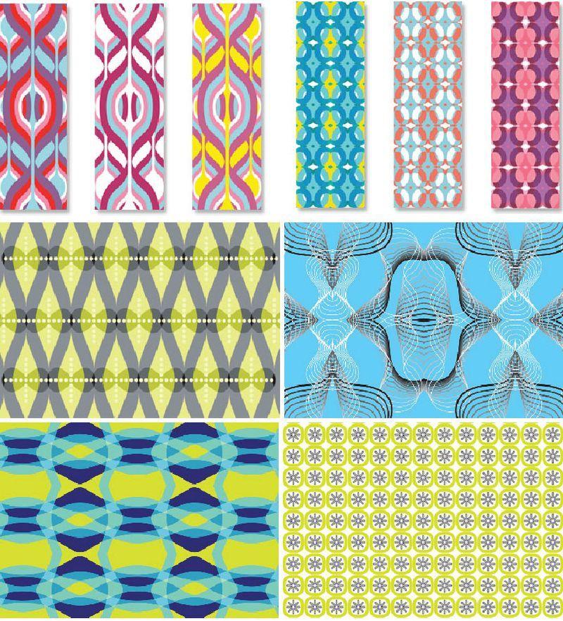 Karim rashid patterns walls pinterest textiles - Disenos textiles del mediterraneo ...