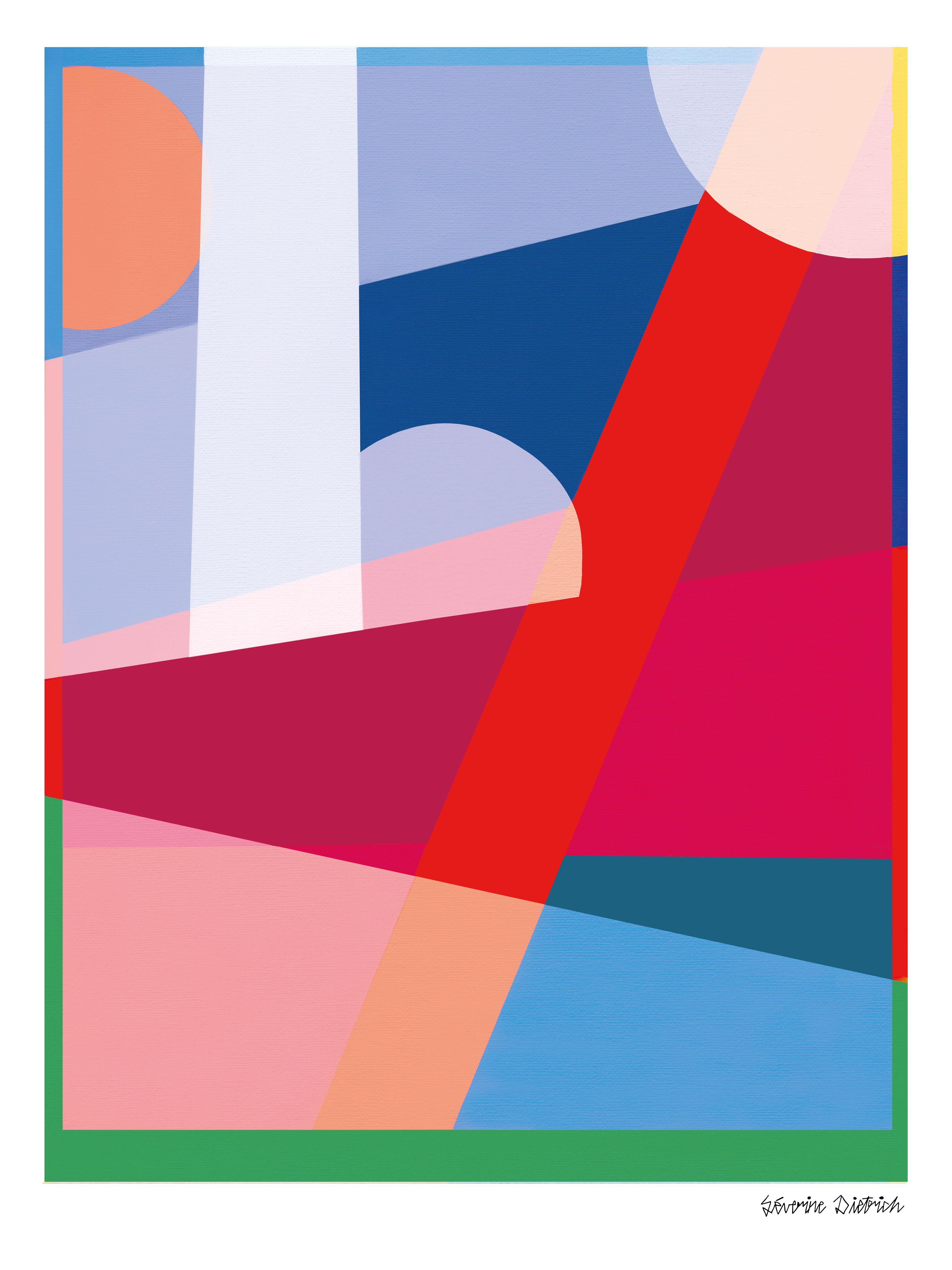 Séverine Dietrich Summer en 2019 Illustration et Peinture