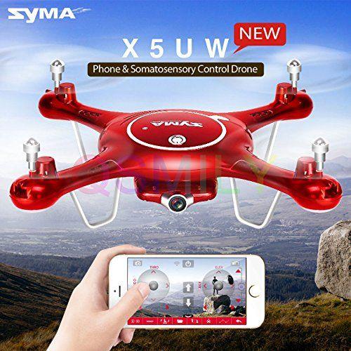 Qsmily Syma X5uw Wifi Fpv Control 24g 4ch 6axisgyro Rc Quadcopter