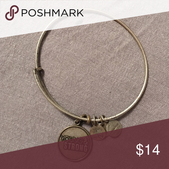 Alex and Ani bracelet Young and Strong silver Alex and Ani bracelet Alex & Ani Jewelry Bracelets