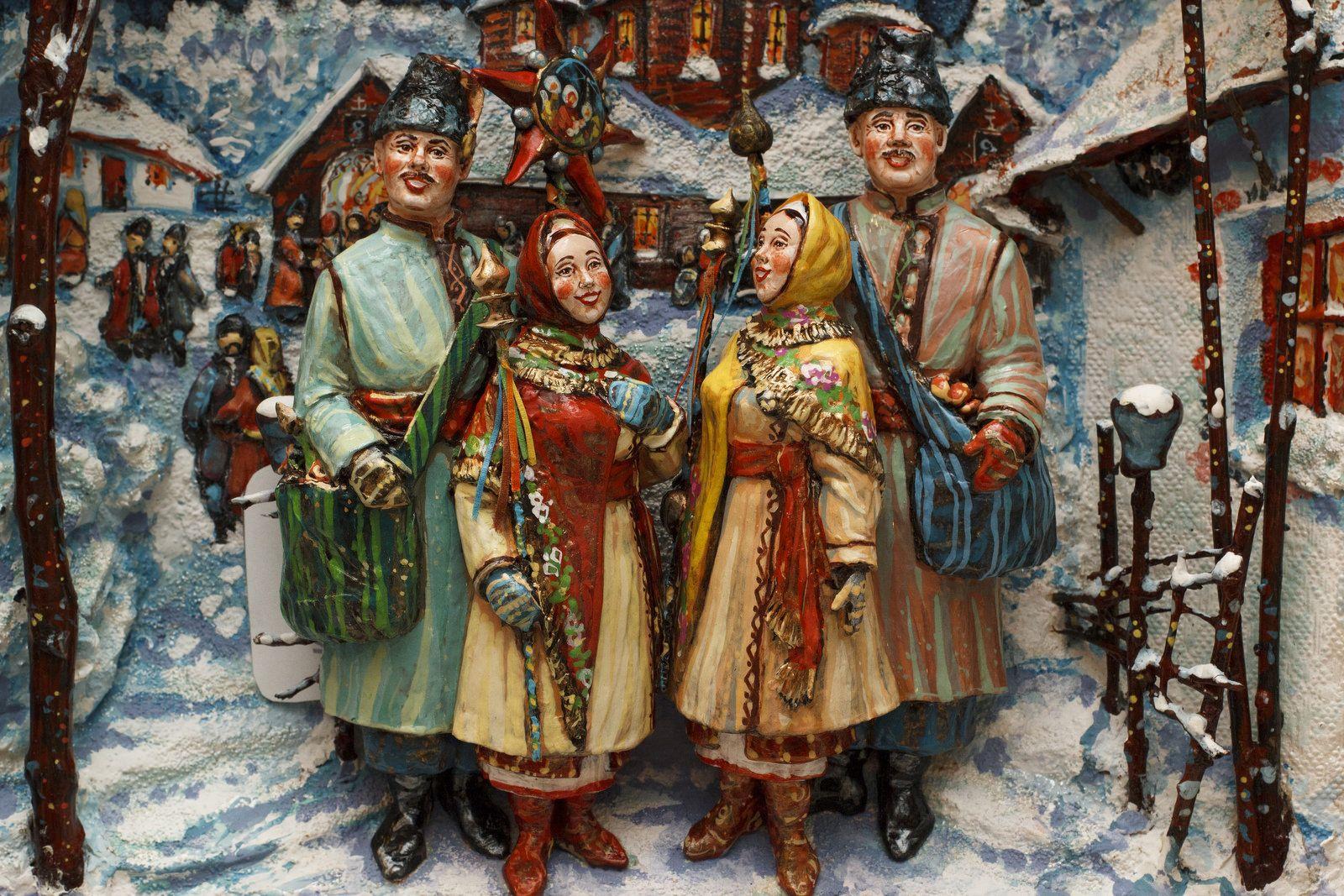 каждого картинка славянское рождество того, эта