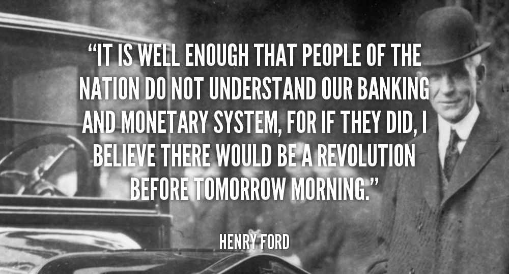 The Curse Of Capitalism Ford Quotes Henry Ford Quotes